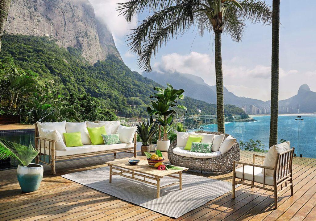 une très belle terrasse