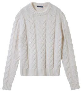un beau pull en laine